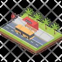 Bus Terminal Icon