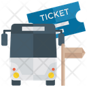 Bus Ticket Travel Ticket Tickets Icon