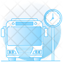 Bus Time Icon