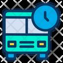 Bus Time Icon