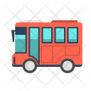 Bus Transportation Vacation Icon