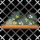 Bushes Shrubs Meadow Icon