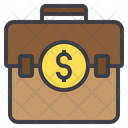 Bag Money Finance Busienss Briefcase Icon