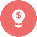 Business Idea Bulb Icon