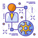 Business Strategy Efficiency Icon
