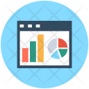 Business Analytics Graphs Icon