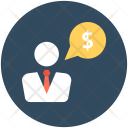 Business Consulting Chatting Icon