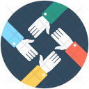 Business Companionship Deal Icon