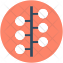 Business Networking Workflow Icon