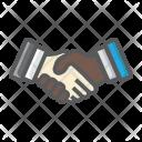 Business Handshake Deal Icon