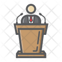 Business Speaker Tribune Icon