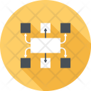Business Management Map Icon