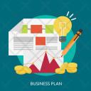 Business Plan Marketing Icon