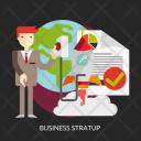 Business Startup Entrepreneur Icon