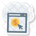 Business Cloud Income Icon