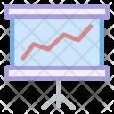 Business Board Arrow Icon