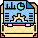 Briefcase Business Office Bag Icon