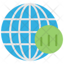 Business Global Analysis Global Business Analysis Icon