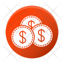 Business Coin Dollar Icon