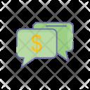 Money conversation Icon