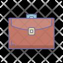 Briefcase Leather Profile Icon