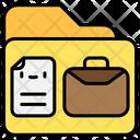 Business Document Folder Icon