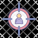 Target Employee Icon