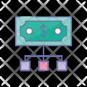 Dollar Hierarchy Money Icon