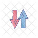 Transaction Arrow Transfer Icon