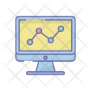 Online Monitoring Graph Icon