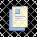 Resume Document Agreement Icon