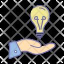 Idea Sharing Innovation Icon