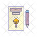 Idea Pencil Innovation Icon