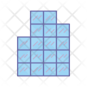 Building Office Glass Icon