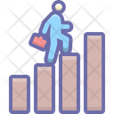 Business Success Growth Icon