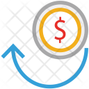 Business Cycle Dollars Icon