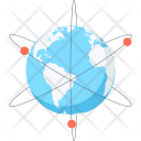 Business Communication Earth Icon