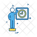 Business Man Office Icon
