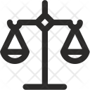Business Justice Balance Icon