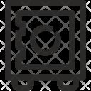 Business Deposit Safe Icon