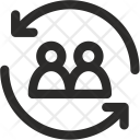 Business Share Exchange Icon