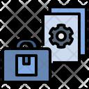 Business Plan Process Icon