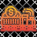 Business Train Transportation Icon