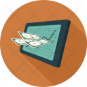 Business Statistics Tablet Icon