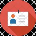 Business Identity Identification Icon
