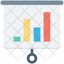 Business Graph Flipchart Icon