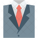 Business Apparel Coat Icon