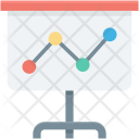 Business Presentation Chalkboard Icon