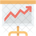 Business Presentation Easel Icon