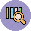 Business Graph Magnifying Icon